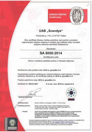 SA 8000 2014-1